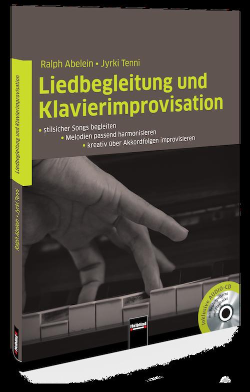 Vapaa säestys Käsikirjat Liedbegleitung und Klavierimprovisation