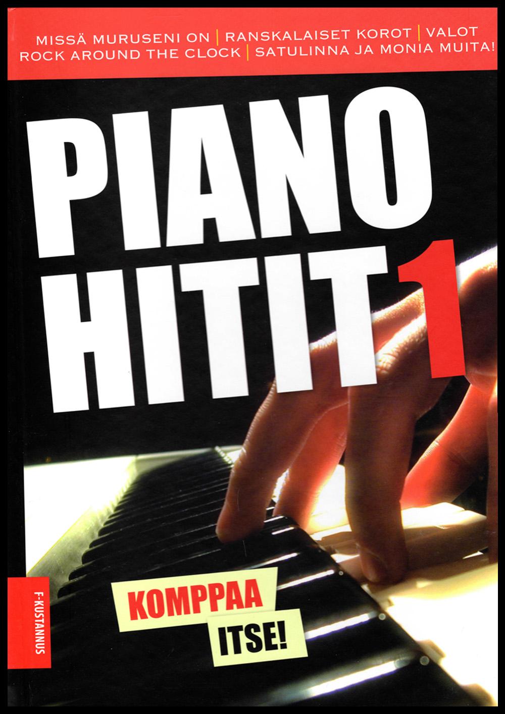 Pianohitit 1 Vapaa säestys