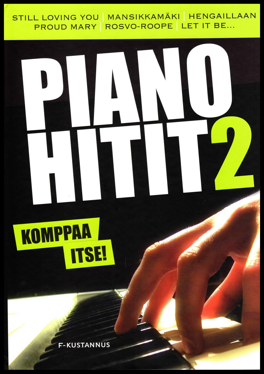 Pianohitit 2 Vapaa säestys