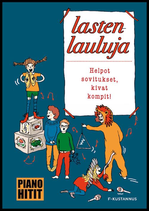 Lastenlauluja Otava Jyrki Tenni